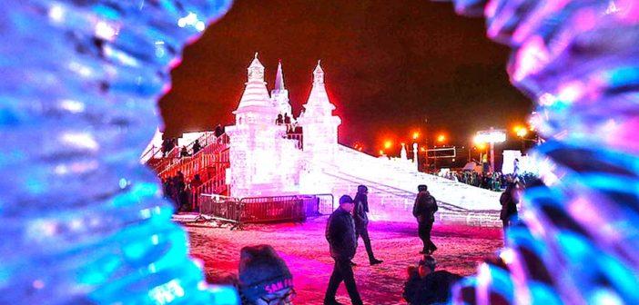 Фестиваль Ледовая Москва на Поклонной горе продолжается!